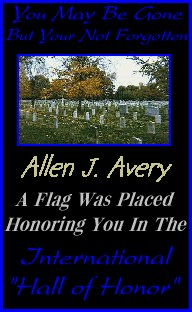 In memory of Allen J. Avery