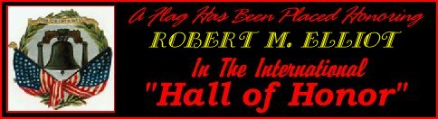 In memory of Robert M. Elliot