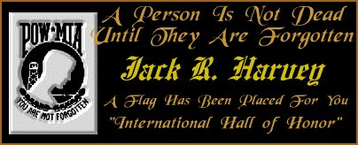 In memory of Jack R. Harvey