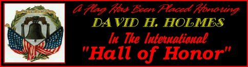 In memory of David H. Holmes